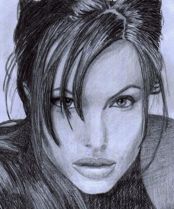 Angelina Jolie por Stormfogel